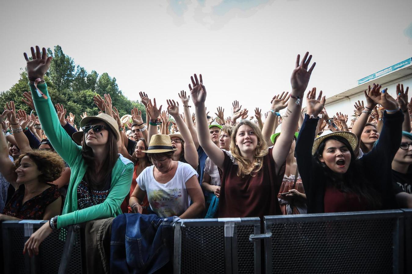 Le festival de Ronquières en 2016.