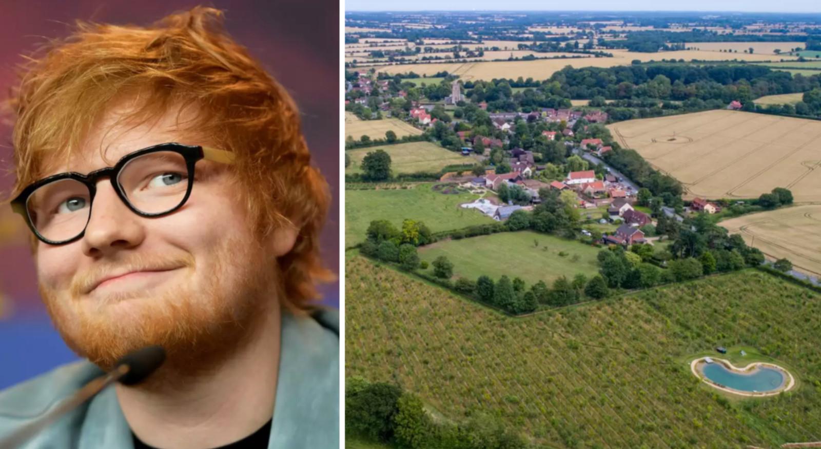 Le domaine d'Ed Sheeran
