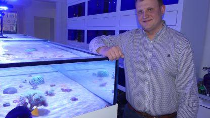 """Kenneth opent aquariumshop Coral Reef: """"Alles voor zout- en zoetwatervissen"""""""