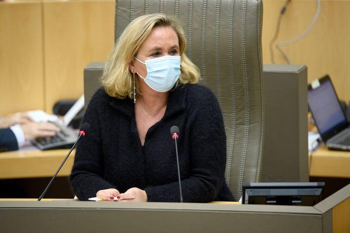 Vlaams Parlementsvoorzitter Liesbeth Homans (N-VA)