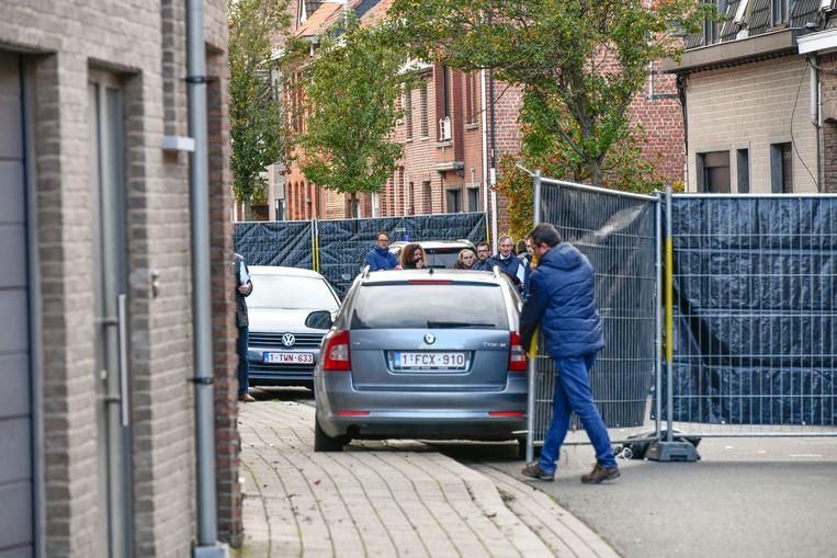Afgelopen week werd in Wevelgem een vrouw om het leven gebracht door haar ex. Beeld Florian Van Eenoo Photo News