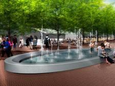Reilinghplein in Leerdam krijgt bij opknapbeurt ook een watertafel