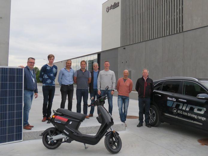 Zeven vrijwilligers trekken met burgercoöperatie Stroomkracht aan de kar van de energietransitie.