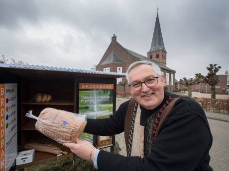 'Met mijn broodbank hoop ik mensen uit de sores te halen'