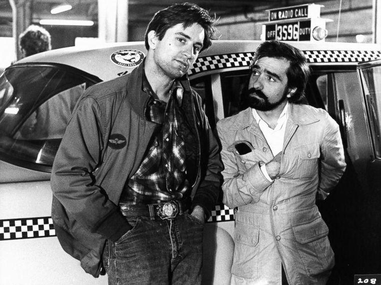 De Niro en Scorsese ten tijde van Taxi Driver, 1976 Beeld