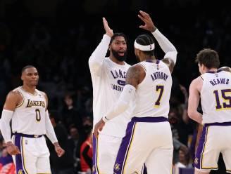 De nul is weg voor de LA Lakers, met dank aan ouderdomsdeken Carmelo Anthony
