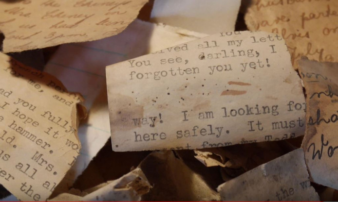 Documenten die gevonden zijn in Grave.