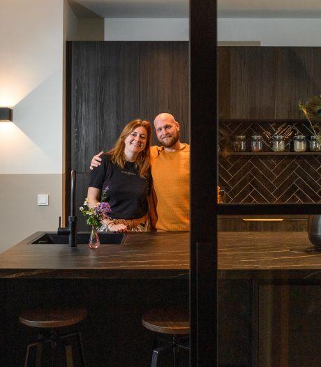 Koen en Cynthia uit Haarlem kochten een bouwval in Enschede en toverden het om tot droomhuis