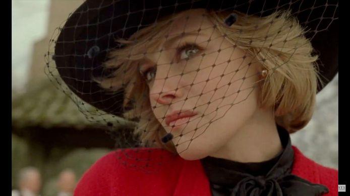 """Kristen Stewart dans le rôle de la princesse Diana dans le prochain biopic """"Spencer""""."""