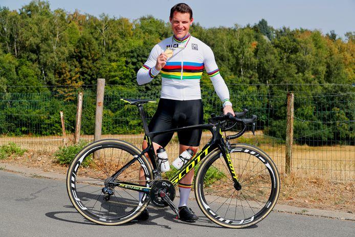 Kris Bosmans wil begin mei in Oostende zijn selectie voor Tokio binnenhalen.