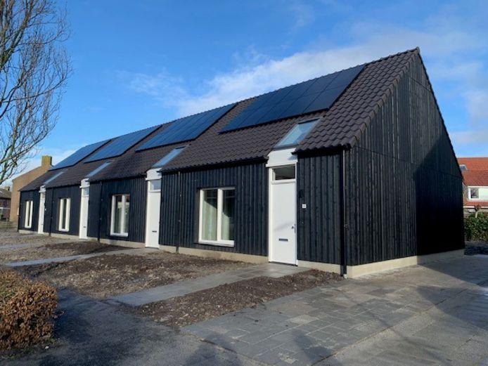 De nieuwe woningen in Biggekerke