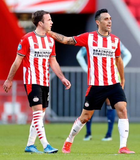 PSV hoopt in de slotfase van het seizoen op meer rendement om de Champions League in te kunnen
