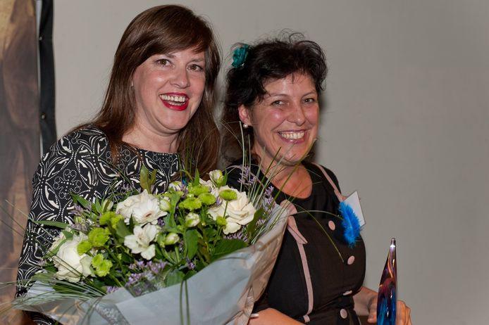 Tine Vandenbussche en Erika Janssens.
