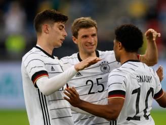 Duitsland klopt Letland met zware 7-1 cijfers en lijkt klaar voor het EK