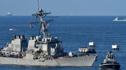 Vermiste bemanningsleden Amerikaans oorlogsschip dood teruggevonden