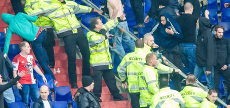 UEFA onderzoekt rellen Feyenoord