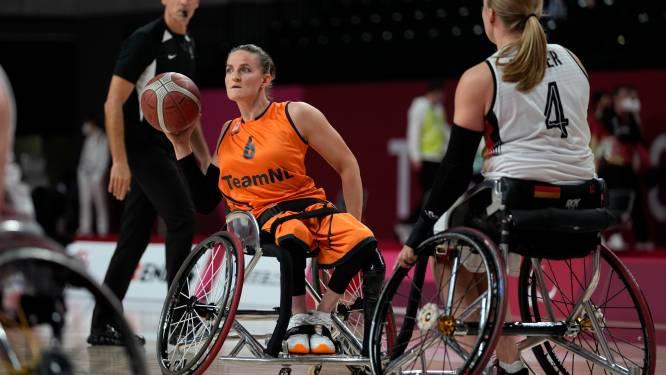 Visser en Wimmenhoeve met Oranje naar paralympische finale rolstoelbasketbal