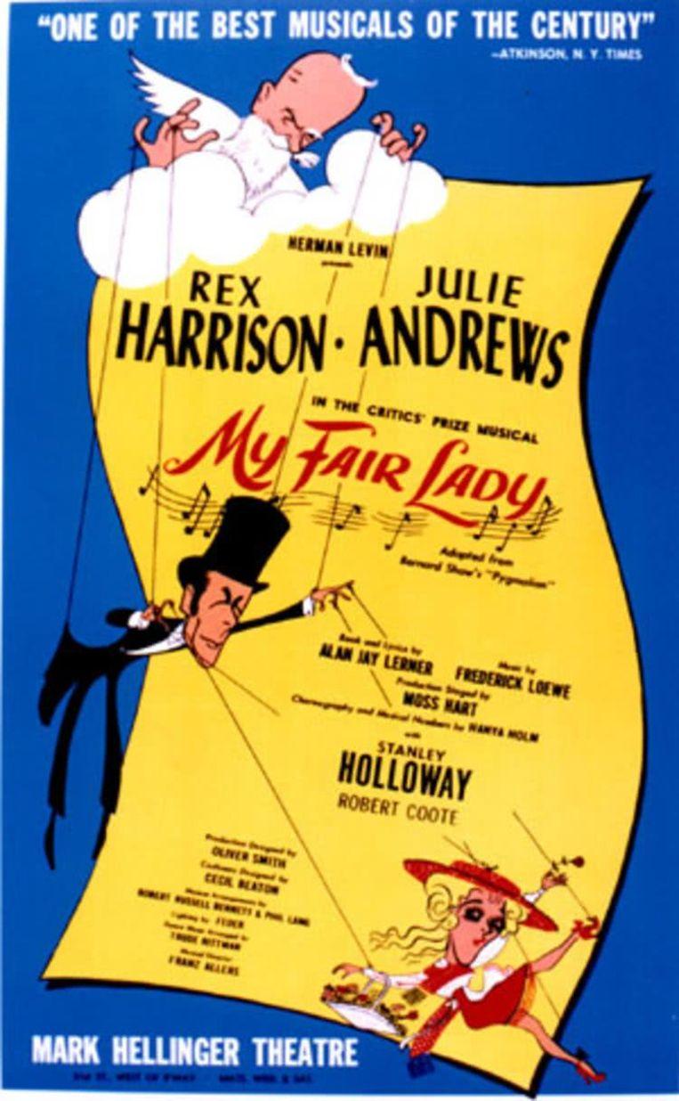 Filmposter van My Fair Lady Beeld