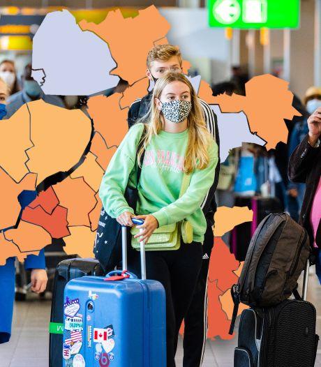 KAART | Bijna dubbel zoveel nieuwe besmettingen in deze regio (en dit is de oorzaak)