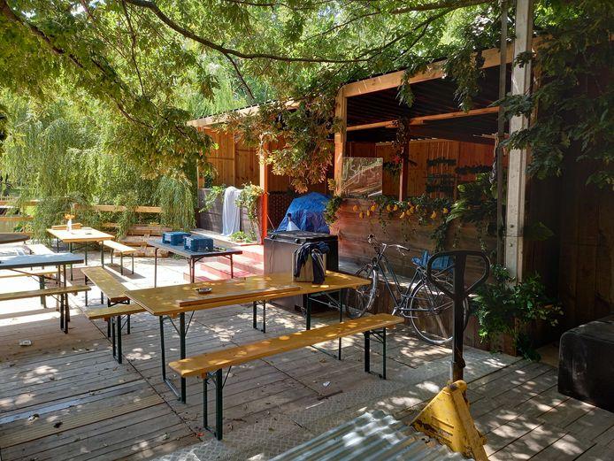 Café Koer is aan zijn laatste fase  bezig, maar is klaar voor de opening.