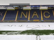 NAC kan zelfs bij -20 spelen vrijdag, maar de KNVB beslist