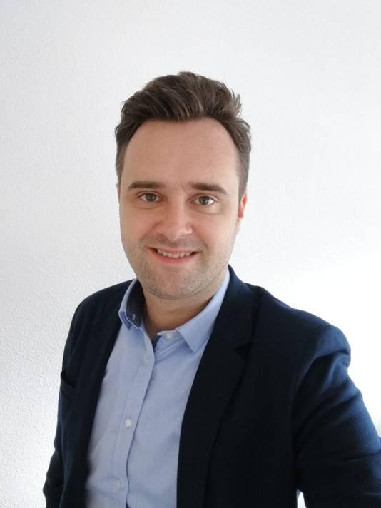 Maarten van 't Hof, onderzoeker.
