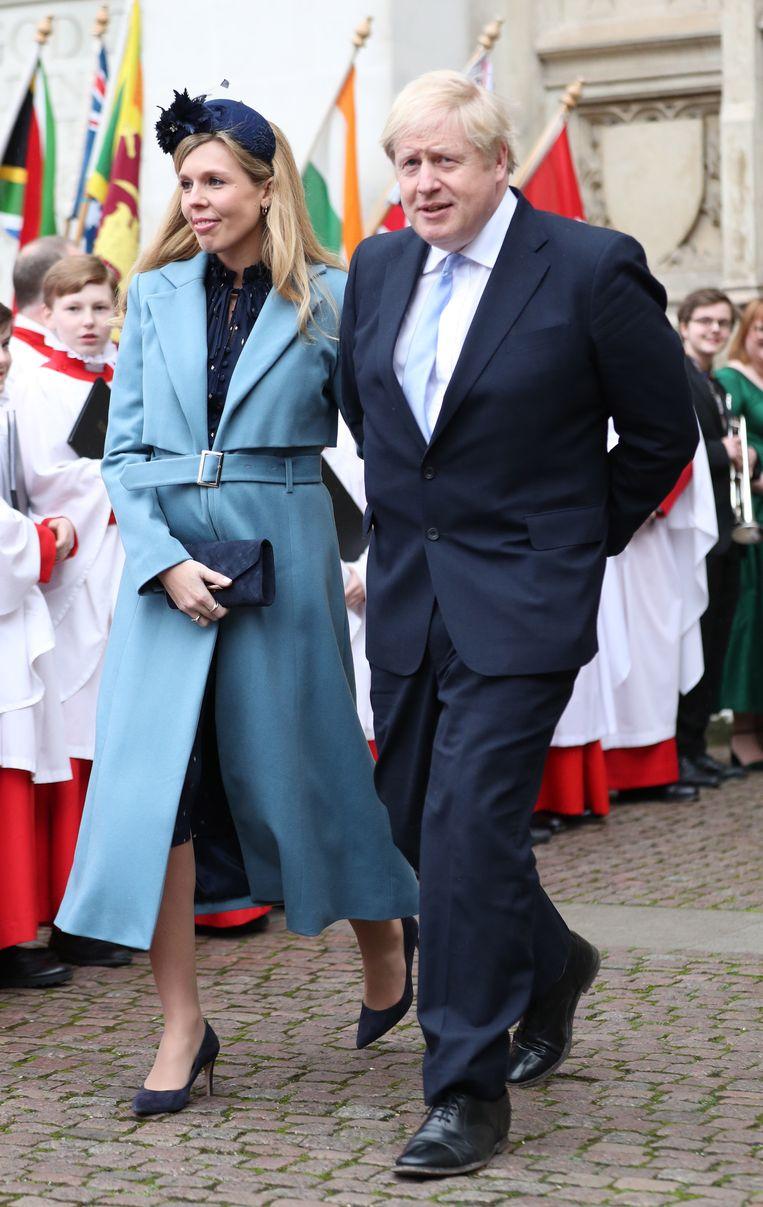 'Boris en Carrie zijn allebei gekwetste zielen, maar wel gekwetste zielen die het land leiden.' Beeld BELGAIMAGE