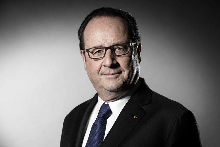 Oud-president van Frankrijk François Hollande. Beeld AFP