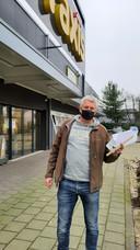 Christian Roovers bij de Praxis in Sint-Michielsgestel.
