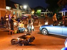 Automobilist schept scooter in Maarssen en wordt aangehouden, brommerrijder loopt flinke hoofdwond op