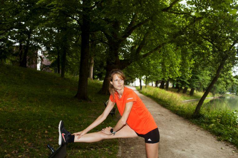 Wetenschapsjournalist en hardloopster Mariska van Sprundel. Beeld Renate Beense
