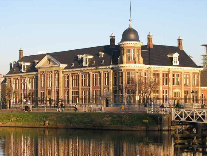 Het oude Muntgebouw aan de Leidseweg in Utrecht