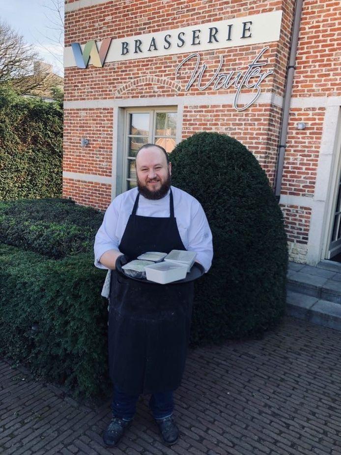 Ook Brasserie Wouter op het Hoogeind biedt zijn klanten momenteel afhaalmaaltijden.