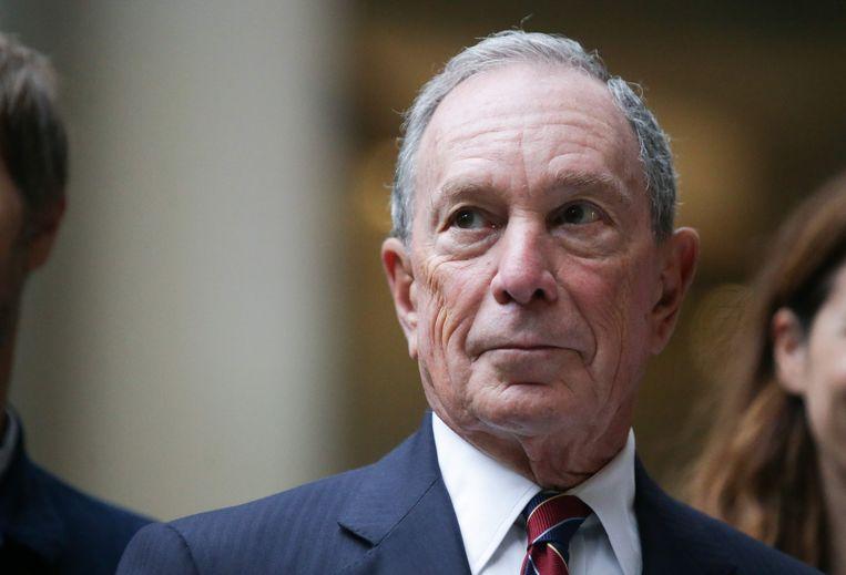 Michael Bloomberg. Beeld AFP