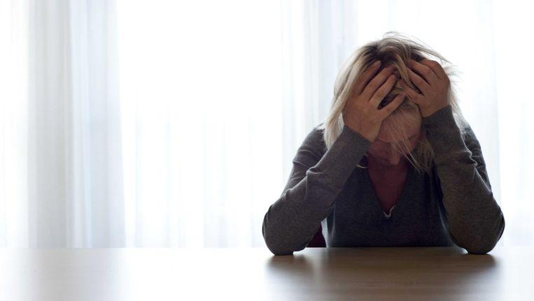 Van de ondervraagde artsen zegt 72 procent dat er afgelopen jaar meer mensen met psychische klachten bij hun praktijk hebben aangeklopt Beeld anp
