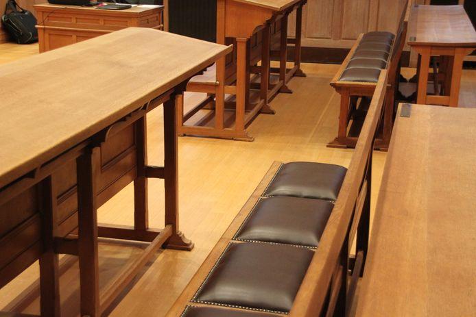 de rechtbank in Kortrijk