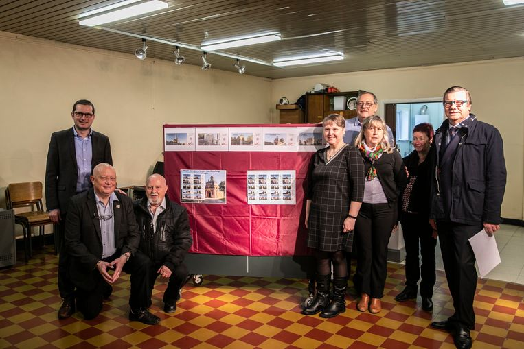 Kulturele Postzegelclub Schendelbeke geeft vijf nieuwe postzegels uit.