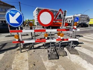Half jaar verkeershinder richting Halle nu werfzone op N6 van kant wisselt