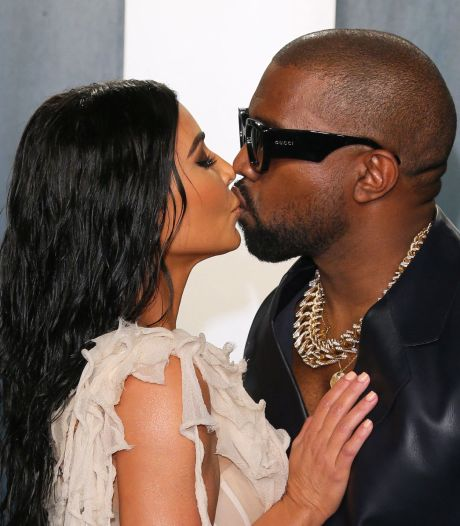 Kanye West ontvolgt Kim Kardashian op Instagram