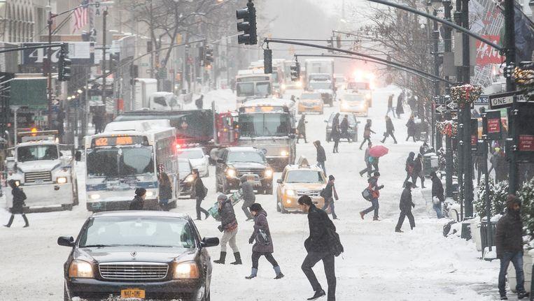 New York, afgelopen vrijdag. Beeld AP