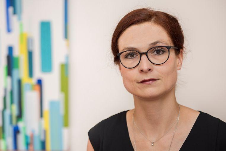 Susanne Schmeier, hoogleraar Waterrecht in Delft. Beeld Hans de Lijser