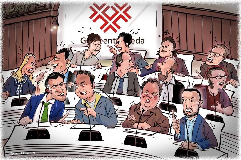 Cartoon Eric Elich