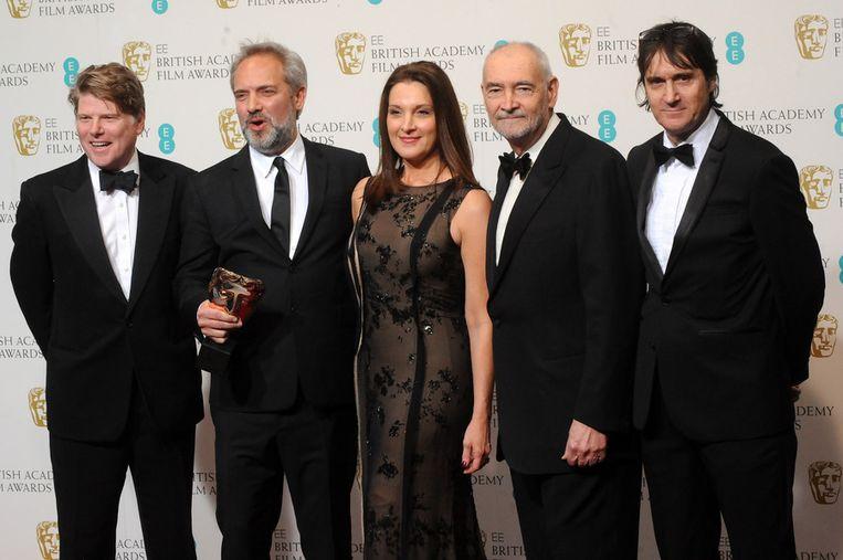 'Skyfall' werd verkozen tot beste Britse film. Beeld GETTY