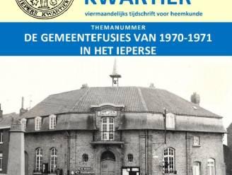 """Tijdschrift Heemkring Iepers Kwartier brengt themanummer over Ieperse fusies: """"Voor het eerst op A4-formaat en in het kleur"""""""