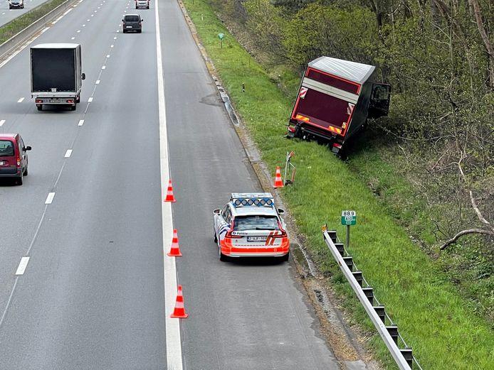 De hinder voor het verkeer bleef beperkt.