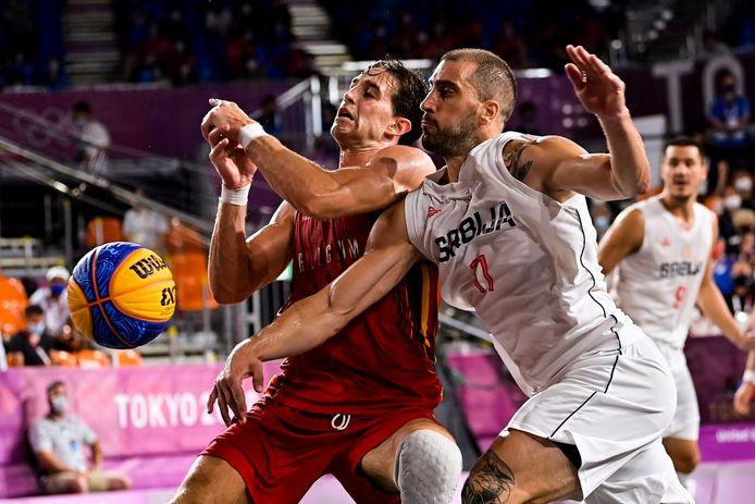 Rafael Bogaerts (tegen de Servische wereldtopper Dusan Bulut) beseft dat de Spelen iets hebben losgeweekt in eigen land.