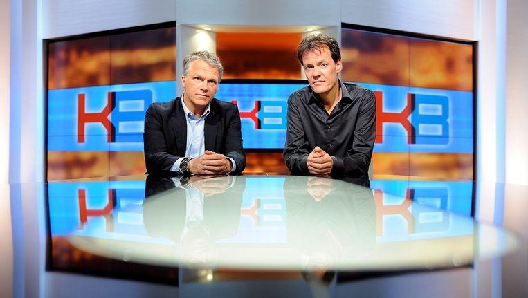 Bos en Van den Brink, met links Wouter Bos Beeld ANP