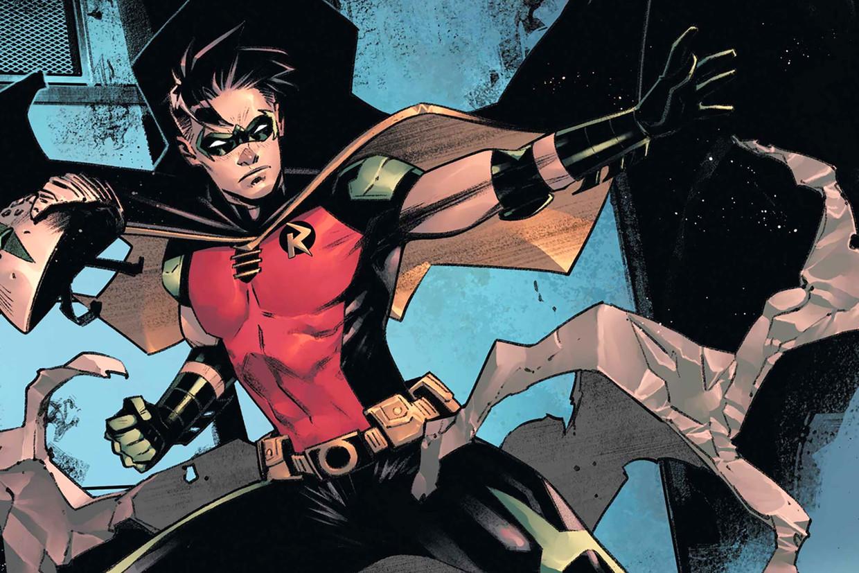 Robin in 'Batman: Urban Legends.' Beeld RV Courtesy of DC