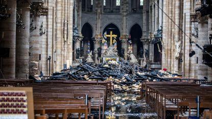 The day after: Frankrijk blijft niet bij de pakken zitten na brand in Notre-Dame