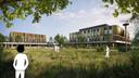 Het nieuwe ziekenhuis moet samenvallen met de groene omgeving van het Reestdal.